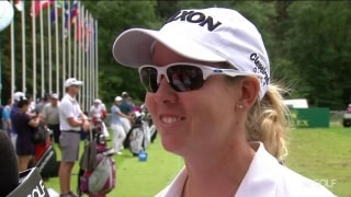 Buhai trying to put four-rounds together at AIG Women's British Open