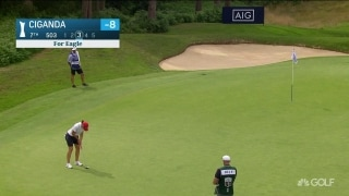 Highlights: Eagle has landed for Ciganda at AIG Women's British Open