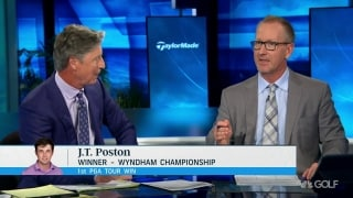 Duval: Did we see Poston's win coming? 'Not necessarily'