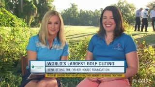 How the World's Largest Golf Outing benefits the Fisher House Foundation