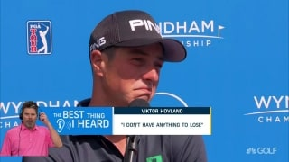 Hovland's 'care-free' attitude caught Damron's ear at Wyndham