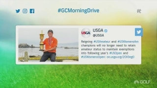 USGA changes U.S. Open policy for U.S. Am champs