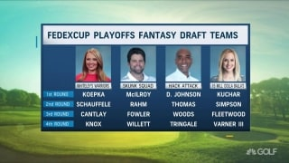 Morning Drive's fantasy draft for FedExCup Playoffs