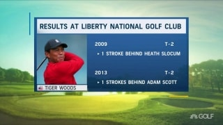 Give him Liberty? Woods has solid history at Liberty National