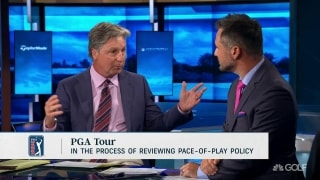 Immelman: 'Make sure there is no gray area' in pace-of-play rule