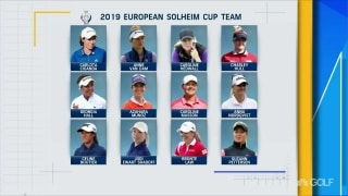 Watch: Matthew reveals European Solheim Cup picks