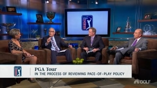 What should the PGA Tour do about slow play?