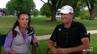 Hickok talks playing alongside Tour's 'mythical creatures'