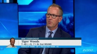 Duval: Don't be surprised if Tiger 'comes out swinging' this weekend at BMW