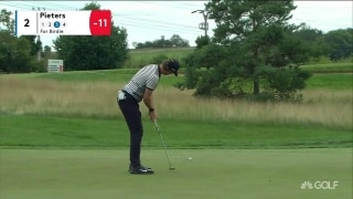 Highlights: Pieters rolls in four straight birdies at Czech Masters