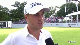 Thomas on BMW Championship win: 'I made it hard on myself'