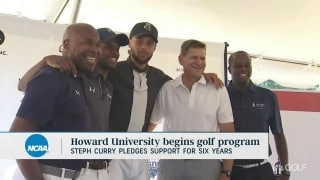Curry partners with Howard University to launch golf program