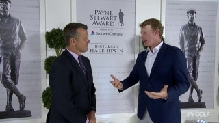 Snedeker inspired by what the Payne Stewart Award represents