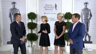 Sally Irwin: Hale 'very humbled, excited and honored' to receive Payne Stewart Award