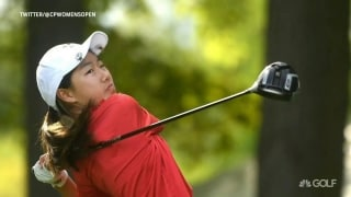 Liu, 12, teeing it up at CP Women's Open