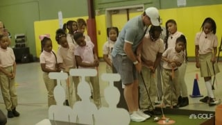 Rory supports 'Youth Fit 4 Life' after school program
