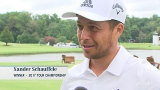 Schauffele's first ace 'couldn't have come at a better time'