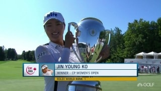 Sirak: 'J.Y. Ko's playing Annika-like golf'
