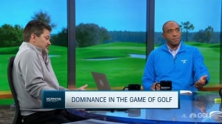 What does it mean to be a dominant player in golf?