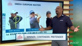 Winner, Contender, Pretender at the European Masters