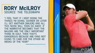Is Rory right? Major season too cramped?