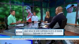 Tiger Tracker asks: More surprised if Tiger wins or goes winless next season?