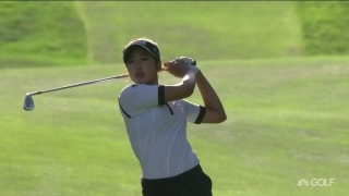 UL Innovative Shots of the Day: Noh's birdie, birdie finish in Portland