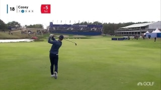 Highlights: Casey (66) leads the way at European Open