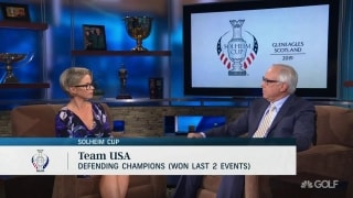 U.S. Solheim Cup rookies will need to lean on veterans