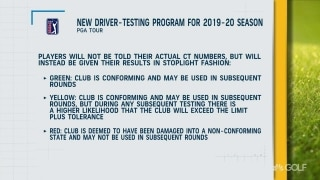 PGA Tour enforces new driver-testing program for 2019-20 season