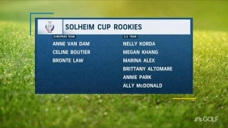 Inkster: Easier for rookies to 'play away' in first Solheim Cup