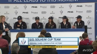 Pressel: It's not just rookies who feel Solheim nerves