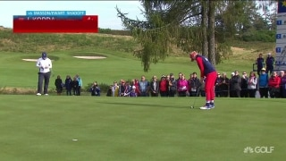 J. Korda pours in birdie putt on No. 6; Masson calmly matches