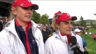 Lexi: Dug deep for my partner, country and whole team