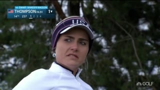 Lexi's missed shot to the green.. 'It's not that bad'