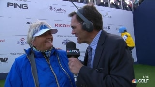 Davies: 'We knew she'd be good ... it's Suzann Pettersen'