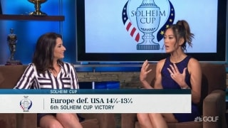 Wie: It's players like Law that make the Solehim Cup exciting