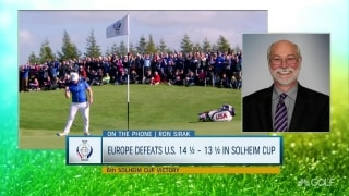 Sirak talks Solheim: 'This was better than imagined'