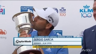 Garcia adds KLM Open win to resume