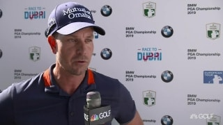 Recharged Stenson surges to hot start at BMW PGA Championship
