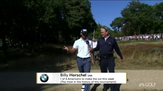 Nice little slice of history: Horschel ties lowest round for American at BMW