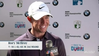 McIlroy (65): 'I did what I could ... I'm moving in the right direction'