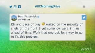 Fitzpatrick calls out slow play at BMW PGA