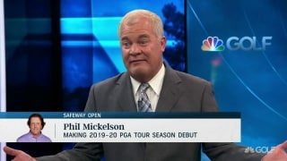 Talking Prez Cup: Mickelson 'hasn't done anything' to warrant pick