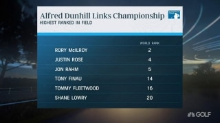 Star power: Alfred Dunhill Link features six of world's top 20