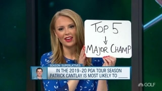 Cantlay most likely to ____ in 2019-20 PGA Tour season