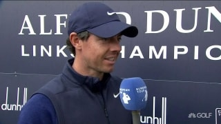 McIlroy on 70: Dad 'bettered me by five'