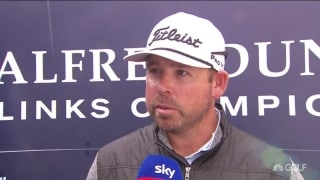 Walters sizes up 'special' 63 at St. Andrews in first round of Alfred Dunhill Links
