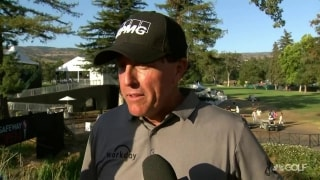 Mickelson (75) struggles to tough start at Safeway