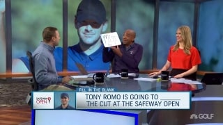 Fill in the blank: Romo is going to ____ cut at Safeway Open